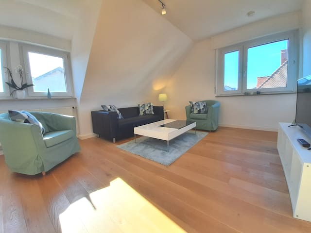 Large apartment-free parking-20 min to city centre