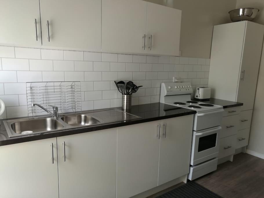 Newly renovated share kitchen