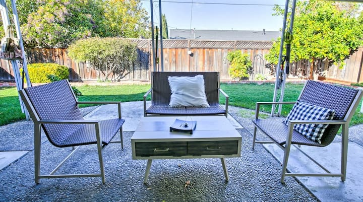 Spacious and Cozy 3 BR home in tranquil San Jose