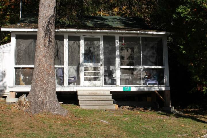 Relax and unplug in this cottage on Rangeley Lake