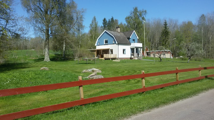 Family house in te Swedish countryside Småland