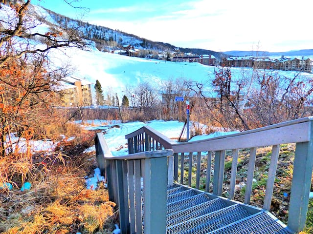 Ski In Ski Out Mountain Side Condo - Steamboat Springs - Willa