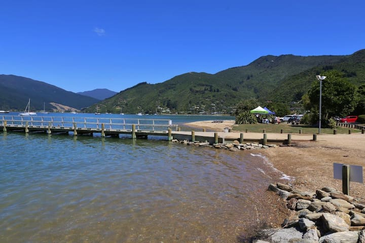 Tranquil Tirimoana in Marlborough Sounds
