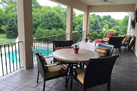 Perfect home during the US Open! Inground pool - Colgate - Casa
