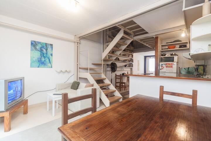 Excepcional loft , con JARDIN
