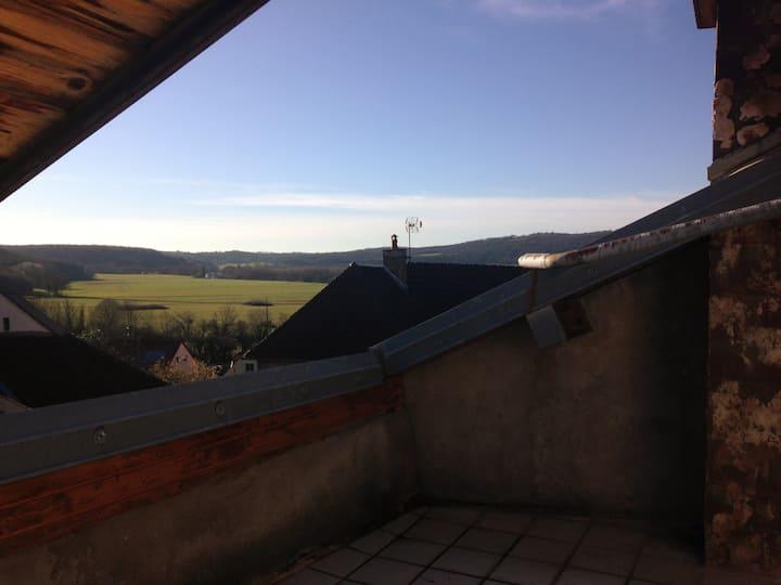 Maison de village au calme de la campagne