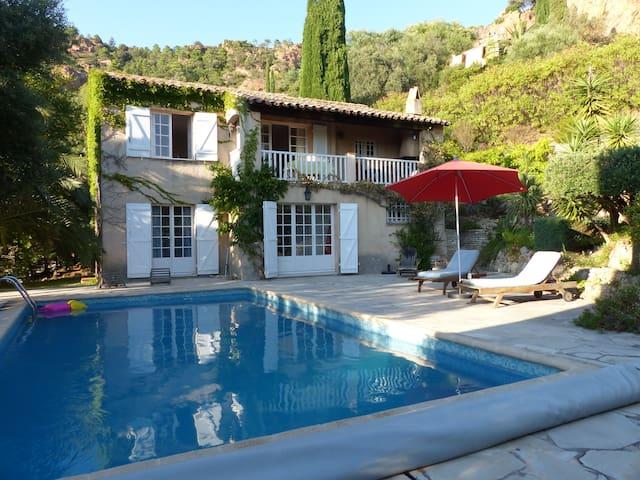 Villa de vacances avec piscine - Agay/st Raphael