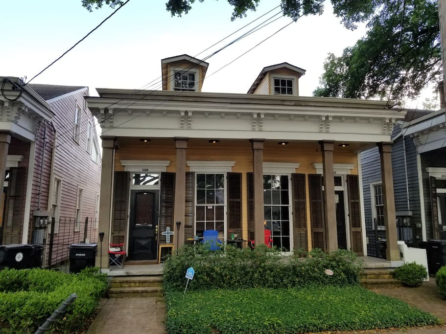 Sweet Historic home in historic Irish Channel New Orleans, Louisiana