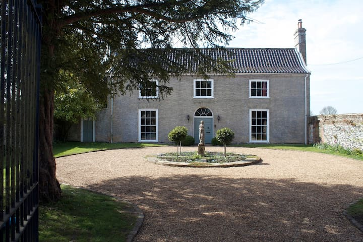 Georgian house near Bury St Edmunds - 베리 세인트 에드먼즈(Bury St Edmunds) - B&B