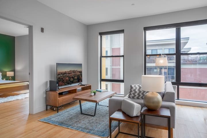 Modern + Bright 2BR in Southie w/ Gym, by Blueground