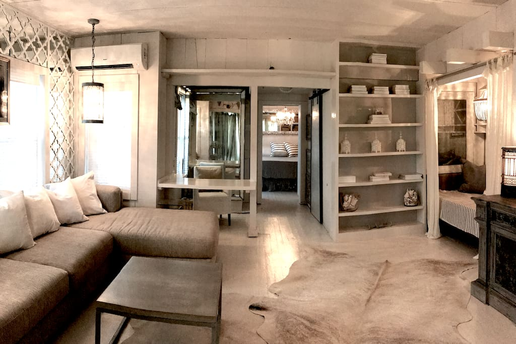 Lots of space /  Wall to Wall Sectional