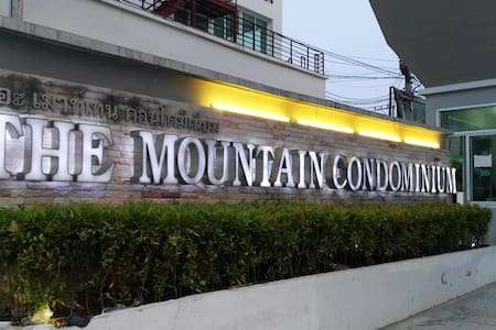 THE MOUNTAIN CONDOMINIUM 252/65 ALL INCLUDED - Muang Pattaya - Lägenhet