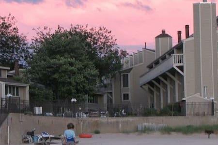 On Lake Michigan Priv. Beach/Pool. Walk to Town!! - South Haven - Wohnung