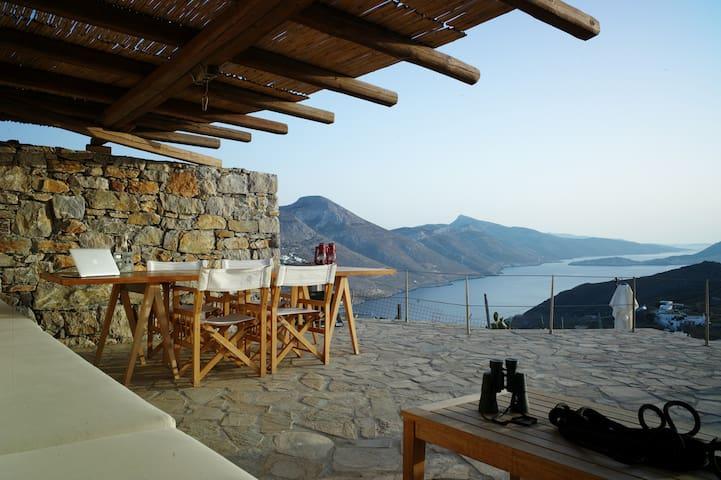 La veranda Amorgos - Tholaria - Hus