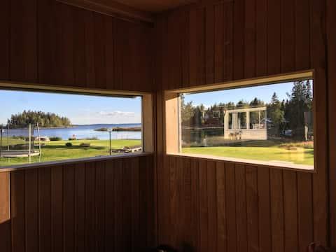 Maison de vacances en bord de mer à 35 minutes d'Umeå