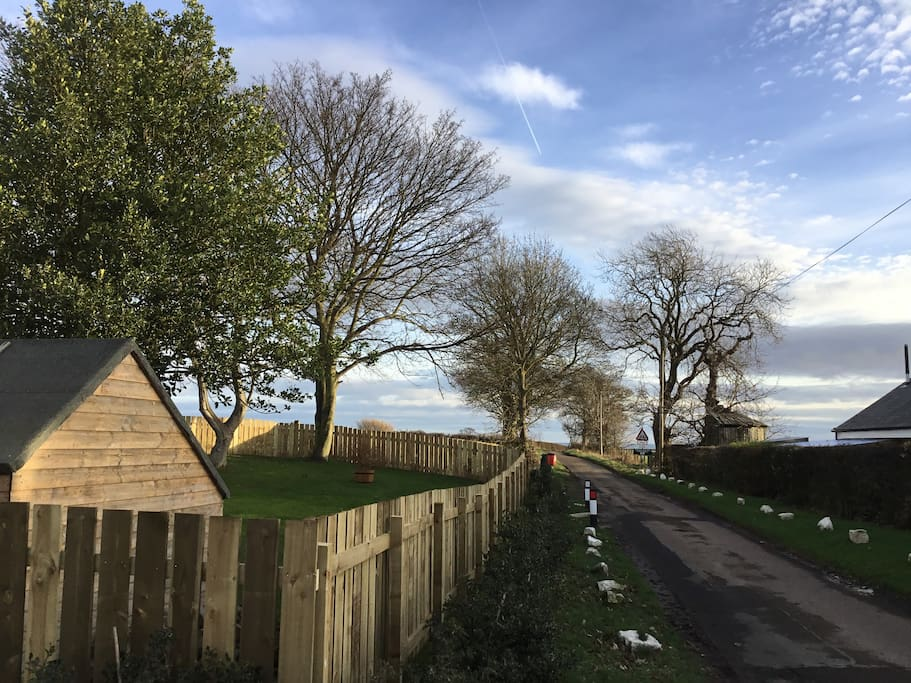 The Country Lane Leading Directly To The Lovely Sugar Sands Beach