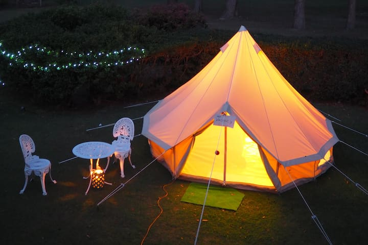 Comfy bell tent 5 mins drive from Emerald Beach - Emerald Beach - Tent