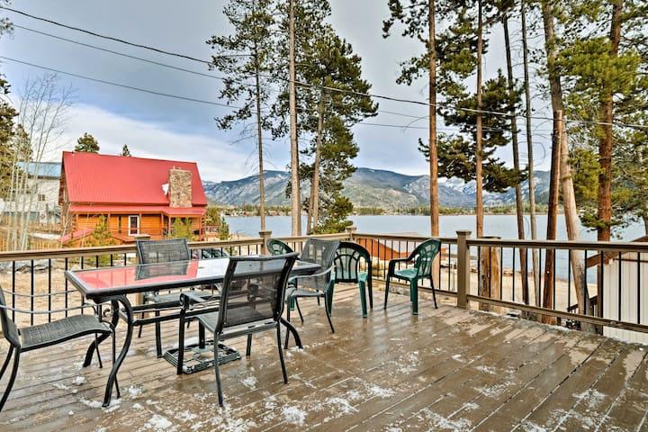Grand Lake Home w/Patio-Steps to Shadow Mtn Lake!