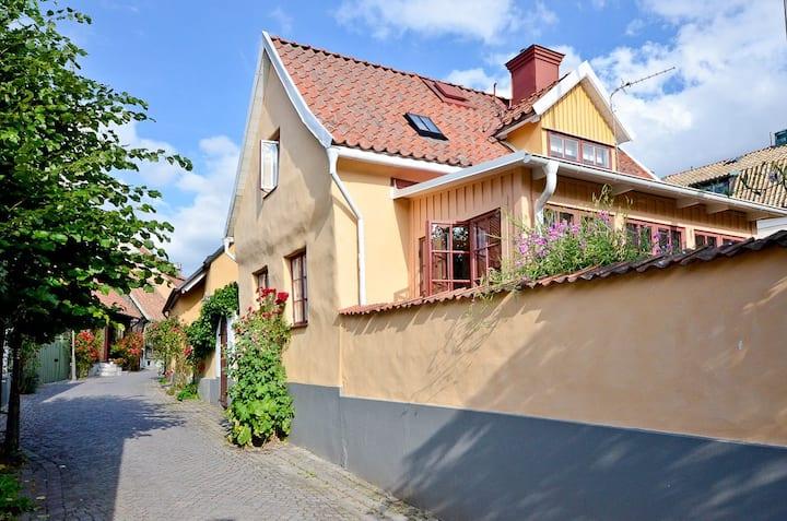 1700 tals hus i världsarvet Visby