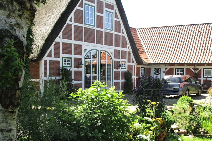 Ritschermoor, Idylle zwischen Elbe und Moorwiesen