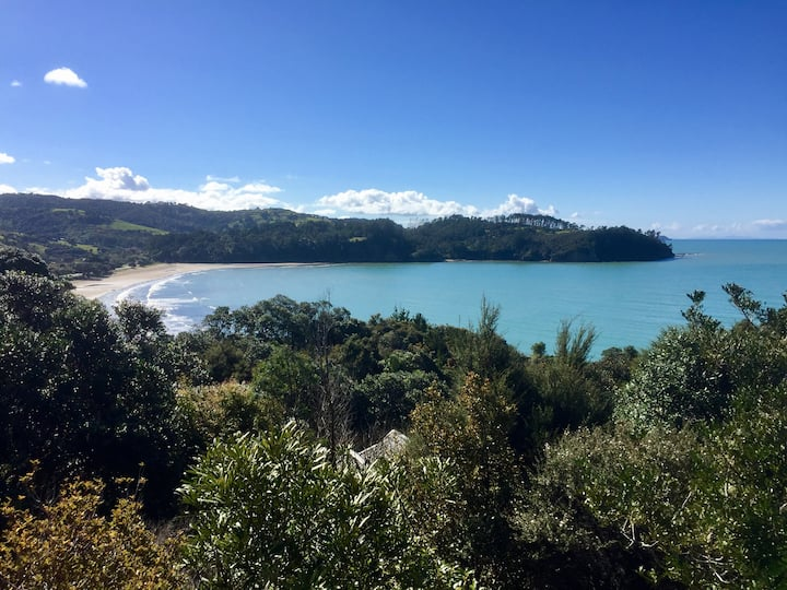 Orewa - Gorgeous sea-view, sunny apartment