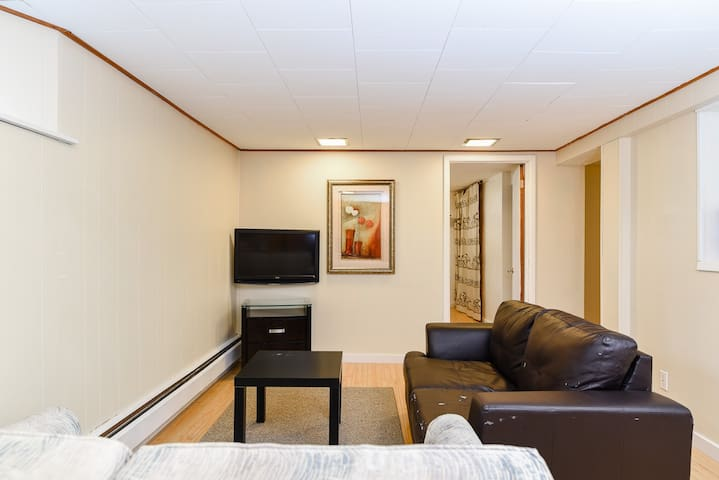 Private Basement Apartment, 400m from NBCC Moncton