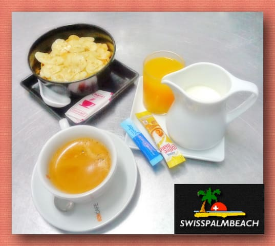 Breakfast available 200 THB per person per meal