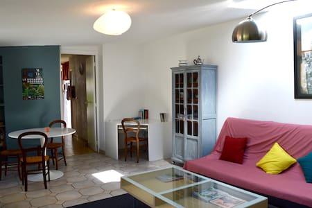 Charmante petite maison ,TYPE LOFT  10mn Paris. - Choisy-le-Roi - Huis