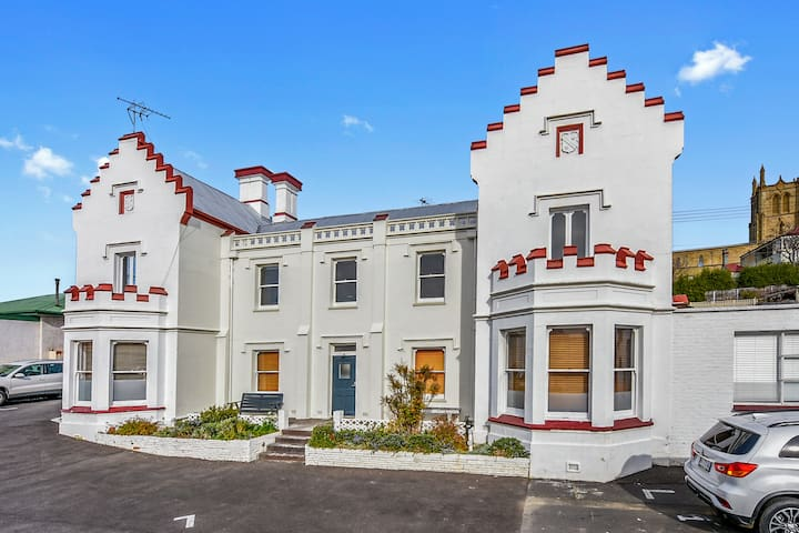 Five apartments in a unique heritage listed house