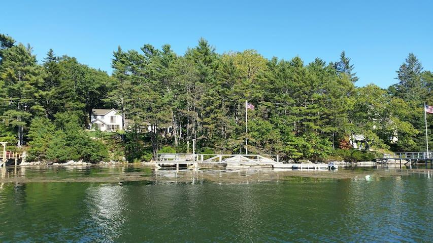 Maine Family Vacation Coastal Estate with Dock