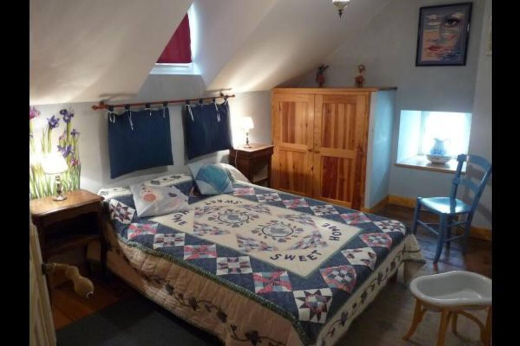 Maison à Gavarnie chambre double