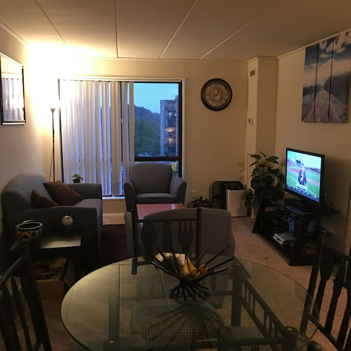 Luxury And Comfort 1 Bedroom High Rise Apartment