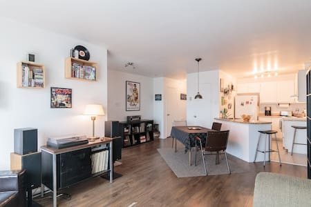 Nice and bright apartment in St Henri - Montreal