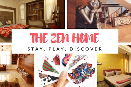 THE ZEN HOME - #1 STAYCATION IN BANGALORE - Бангалор - Квартира