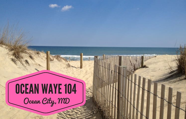 Ocean Waye 104; Amazing Location, Beach Access!