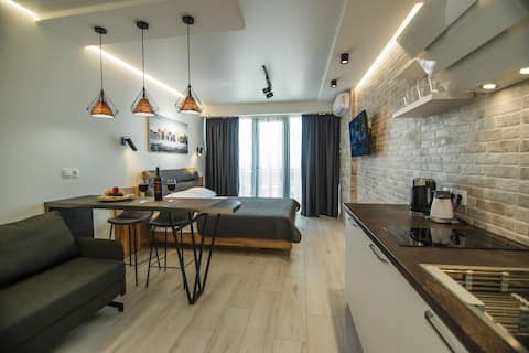 Superior Studio Apartment with Sea View