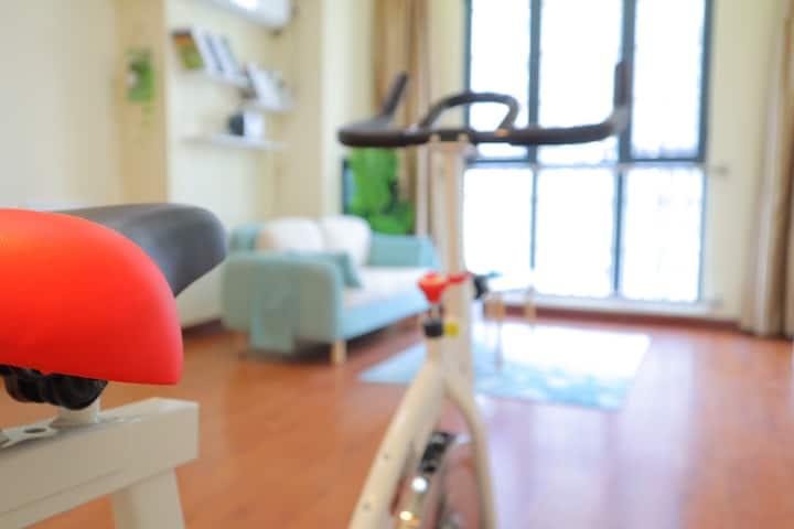 宿居·小小石头 万达广场 健身投影 温暖的家|Home