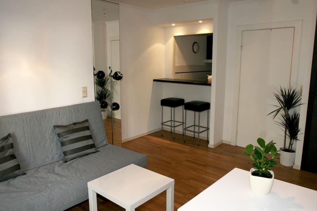 Wohnzimmer / Living room view