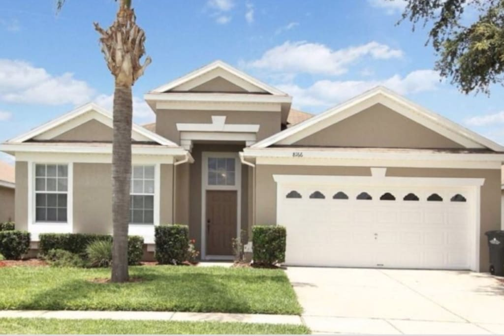 4 Bedroom 3 Bathrooms Windsor Palms 8166fp Houses For Rent In Kissimmee Florida United States