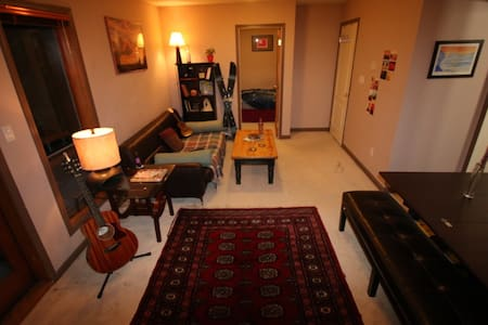 1 bedroom apartment 1.5km from town. - Whistler - Apartament
