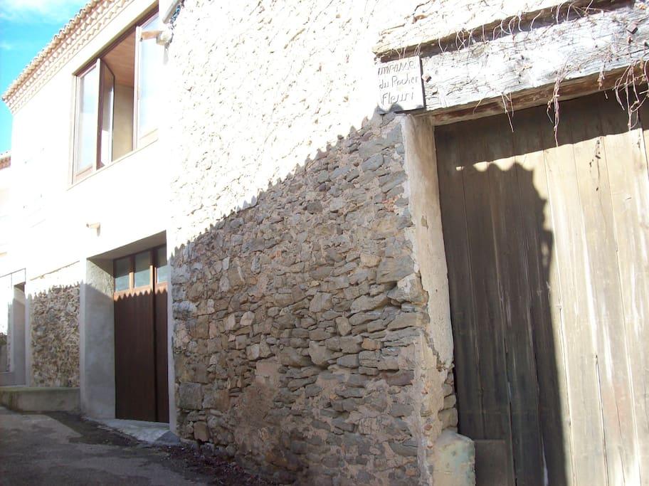 Maison en coeur du vieux village