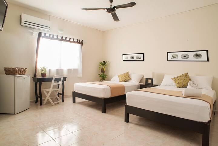 Habitación Doble en Wabi Hotel