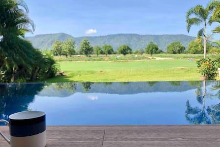 Annie Villa;Private Modern Loft Pool Villa Khaoyai