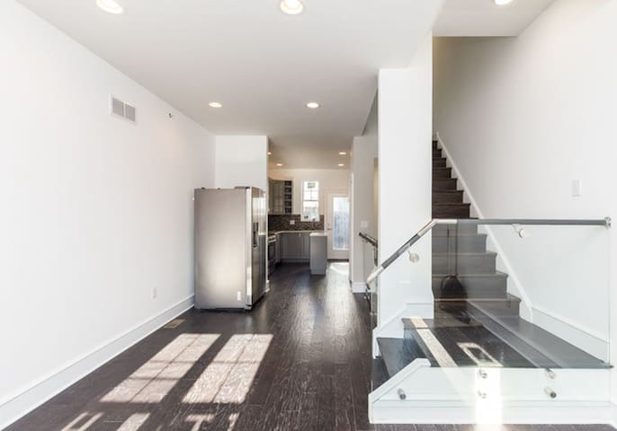 Comfy Sunny Fishtown Haven (4 Bed/2.5 Bath/Patio) - Philadelphia - Hus