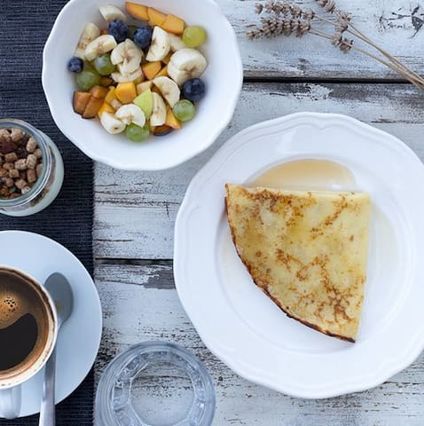 The fresh breakfast