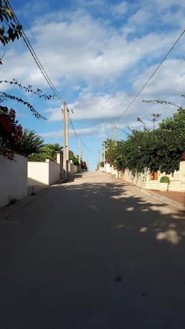 Noto San Lorenzo III Strada  Mare Casa Sandra