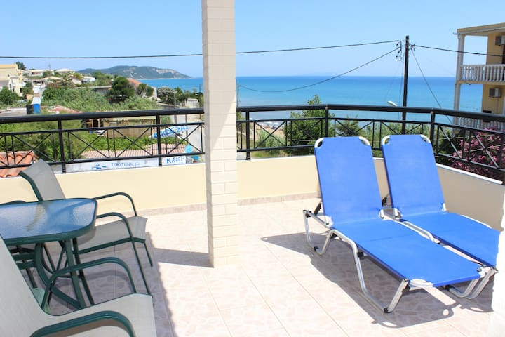 Pantelis apartments 2BR  big balcony fant.seaview - Korfu - Apartament