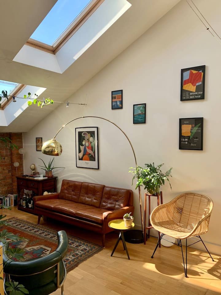 Two Bedroom Loft in Ancoats Mill