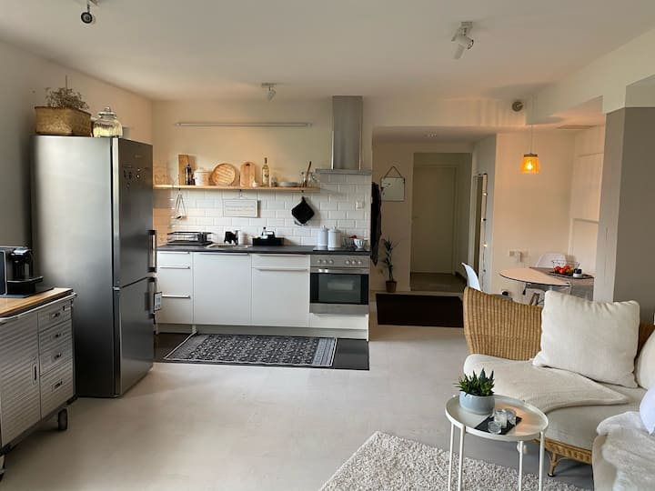 Neue Ferienwohnung mit 60qm in Binzen am Dreispitz