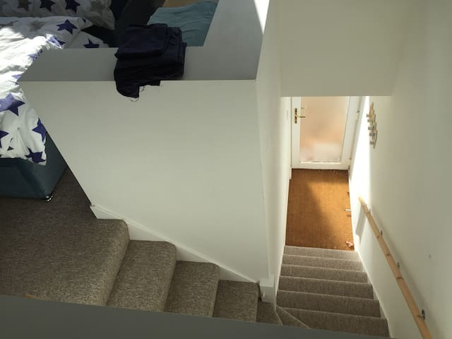 stair & entrance